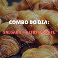 Não perca o combo do dia! #cafeteria #promocao #ahazou #combo