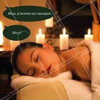 Hahaha quem também é assim? 😂💆 #massagem #massoterapia #ahazou #frases