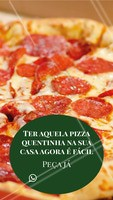 Eu ouvi pizza quentinha??? 🍕 Peça já a sua! #pizza #pizzaria #ahazou #delivery #delicia