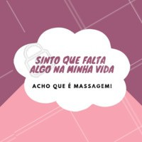 Hahaha concordam? 😂💆 #massagem #massoterapia #ahazou #frases