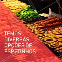 Faça já a sua encomenda ☎ XXXX #espetos #festa #ahazouapp #espetinhos #encomendas