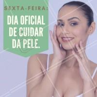 Sextou! Venha cuidar da sua pele 💆 #cuidadoscomapele #ahazou #esteticafacial #sextafeira