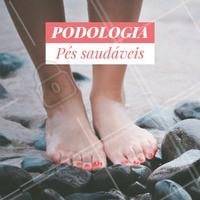 Já marcou seu horário? Venha cuidar da saúde dos seus pés! #podologia #ahazou #pes