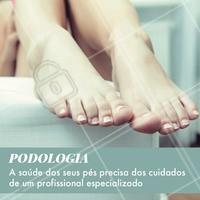 Tem sofrido com micoses, fissuras, unhas encravadas? Venha tratá-las! O seu pé ser cuidado por quem entende. #podologia #ahazou #pes