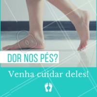 Cuidar dos pés reflete no nosso humor e na saúde geral do nosso corpo. Venha cuidar dos seus! #podologia #ahazou #Podologa