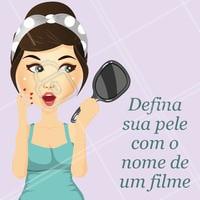 E aí? Vamos brincar! 😜 #esteticafacial #ahazou #engraçado #meme
