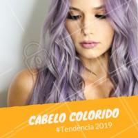 Olha essa tendência para aquelas que gostam de ousar! #tendencia #cabelos #ahazou #beleza