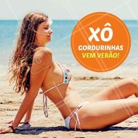 Pronta para receber o Verão? Vamos dar adeus para as gordurinhas! #verao #ahazou #gorduralocalizada #esteticacorporal