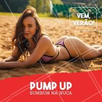 Pronta para receber o Verão? Vamos levantar esse bumbum! #verao #ahazou #pumpup #esteticacorporal