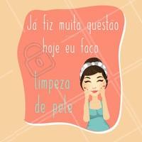 Tire um tempo para se cuidar também! Venha fazer sua limpeza de pele.  #limpezadepele #ahazou #esteticafacial