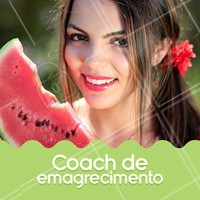 Emagreça com saúde e motivação! Entre em contato e conheça meu trabalho ☎️ #coachdeemagrecimento #ahazou #emagrecimento