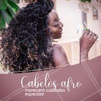 Venha cuidar do seu afro! Agende seu horário ☎️ #cabelo #ahazou #afro #negra