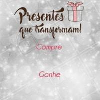 Presenteie quem você mais ama, conheça os pacotes promocionais! #ahazou #estetica #natal