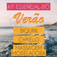 Já se preparou para o verão?! Confira esse kit 👆🏼🏖 #ahazou #massagem #esteticacorporal