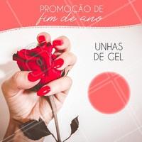 Aproveite esta promoção e fique com as unhas lindas para a virada do ano! #unhas #manicure #pedicure #ahazou #unhasdegel #promoção