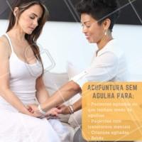 Agende seu horário e conheça esse novo método. Cuide-se! #acupuntura #dores #ahazouapp #saude #bemestar