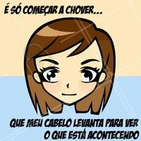 Triste realidade! Quem mais se identifica? hahaha #cabelos #ahazou #funny