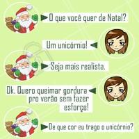 Não espere o papai Noel, ligue e agende seu horário! #ahazou #esteticacorporal #natal