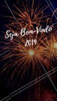 Seja bem vindo 2019! Venha com muito amor, paz e prosperidade! #anonovo #ahazou #festa #2019