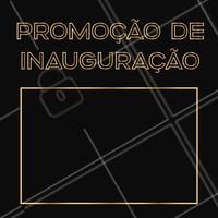 Venha aproveitar nossa promoção especial de inauguração 😍 #promoçao #ahazou #inauguraçao