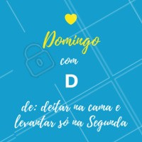 Vamos domingar! #domingo #ahazou #fimdesemana