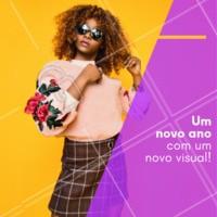 Venha renovar seu visual para receber 2019 💃 #beleza #ahazou #anonovo