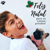 Feliz natal aos nossos bichinhos! #énatal #feliznatal #ahazou #pet #doglovers