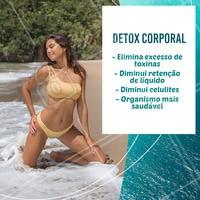 O detox corporal é um tratamento com diversos benefícios! Aproveite e agende sua avaliação gratuita. #detoxcorporal #ahazou #esteticacorporal