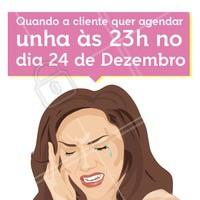 É de partir o coração! hahaha  Não deixe para a última hora, ligue e agende seu horário. #ahazou #meme #natal #beauty