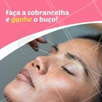 Aproveite essa promoção e renove seu olhar em Janeiro! #sobrancelha #ahazou #designdesobrancelha