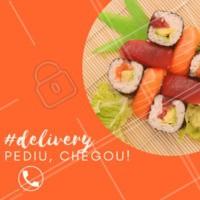 Não fique na vontade, peça no Delivery e tenha o melhor do nosso Japa na sua casa! #delivery #japones #ahazou #sushi #sashimi #rodizio