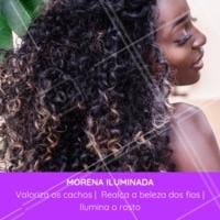 Venha transformar seus fios com essa técnica incrível! #cabelo #ahazou #morenailuminada