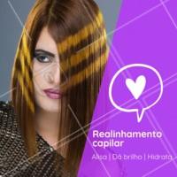 Cabelos com frizz e desalinhados nunca mais! 😱 #cabelo #ahazou #realinhamentocapilar