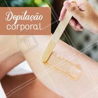 Agenda  sua depilação corporal! #depilacao #ahazou