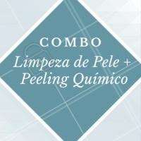 Aproveite esse combo promocional e venha renovar sua pele! #limpezadepele #ahazou #peelingquimico