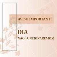 ATENÇÃO! #ahazou #comunicado #agenda