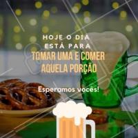 Chama os amigos, a família, e venham tomar uma com a gente. Temos diversas opções de cervejas, drinks, e porções maravilhosas! #beer #drinks #bar #ahazouapp #gastronomia #porcoes