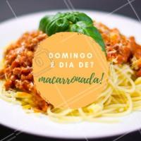 Família + Domingo + Macarronada = Felicidade! #massas #macarronada #ahazouapp #gastronomia #domingo #familia