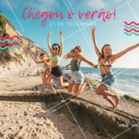 Quem aí também ama essa estação? Bem-vindo, Verão! ❤️ #verao #ahazou