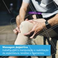 Você já conhece a massagem desportiva? Agende um horário com a gente. #massagem #massagemdesportiva #ahazou #exercício