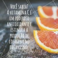 Quem consome Vitamina C, consome Vida ! #ahazou #dicas #vitaminac