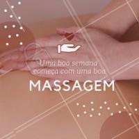 Agende já o seu horário e comece a semana bem relaxada! #massagem #massoterapia #ahazou #bemestar #relax #massoterapeuta