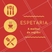 Servimos diversas opções de espetos, venha experimentar! #espetaria #espetos #ahazouapp #restaurante