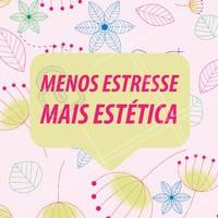 Pra que estresse, né?! 😍 #estetica #ahazou #debemcomavida #peace