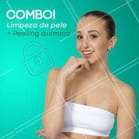 Aproveite esse Combo para deixar sua pele ainda mais linda! #ahazou #limpezadepele