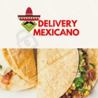 Arrrriba! Peça já sua comida mexicana! #gastronomia #mexicano #delivery #ahazou