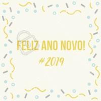 Que 2019 seja um ano repleto de conquistas! #anonovo #ahazou