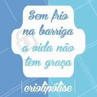 Ligue e agende seu horário com a gente! #ahazou #criolipolise #frionabarriga #gorduralocalizada