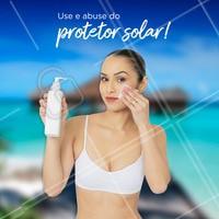 Com a chegada do Verão, os cuidados com a pele devem ser redobrados! É muito importante o uso de protetor solar diariamente no corpo todo e principalmente no rosto. Não esqueça de reaplicar 2 horas! #verao #ahazou #esteticafacial #proteçaosolar