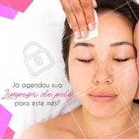Não esqueça da sua limpeza de pele! Aproveite e agende um horário agora mesmo! #limpezadepele #ahazouestetica #esteticafacial